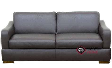 sofa stores belfast quick ship paglia leather full in belfast dark brown by