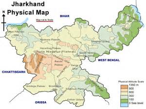Jharkhand by Deoghar Gt Jharkhand Road Map