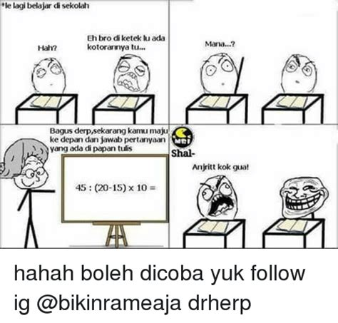 Lu Belajar Hello 25 best memes about derp derp memes