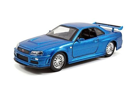 blue nissan skyline fast and furious models of cars nissan skyline gtr r34 2002 fast