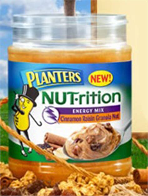 Planters Nut Rition Peanut Butter by Free Planters Nut Rition Cinnamon Raisin Granola Peanut Butter