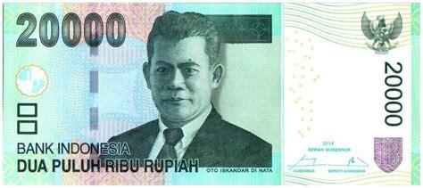 R Oto Iskandar Di Nata banknote indonesia 20000 rupiah oto iskandar di nata