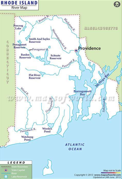 map of usa rivers rhode island rivers map rivers in rhode island