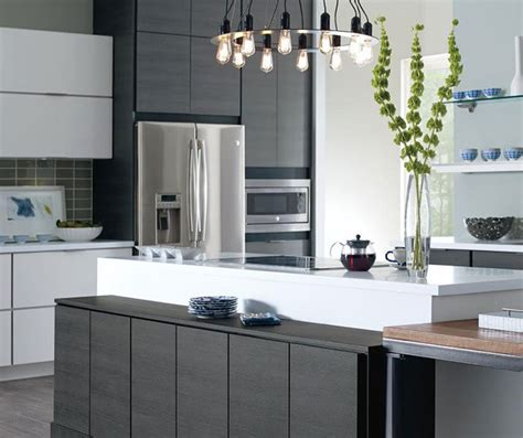 laminate kitchen cabinet laminate cabinets in a contemporary kitchen schrock