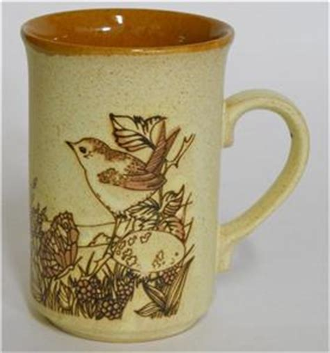 Rabbit And Butterfly Mug 1 ashdale pottery rabbit bird butterfly coffee cup mug made in ebay