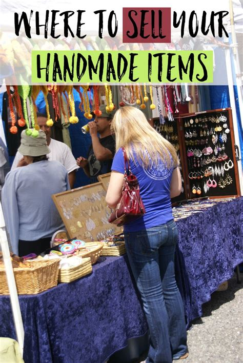 Sell Handmade Goods - 7 places to sell your handmade items moments with mandi