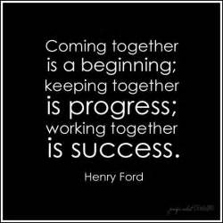 Ford Quotes Henry Ford Quote Teamwork Awesome Well