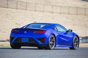 2017 acura nsx detailed overview and specs