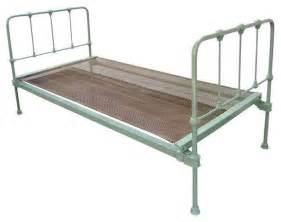 Iron Twin Bed Vintage Green Cast Iron Twin Bed Modern Beds By Chairish