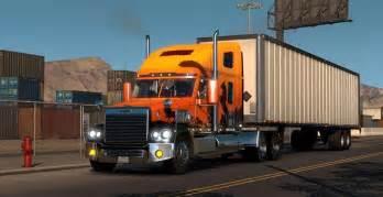 freightliner coronado truck american truck simulator mod