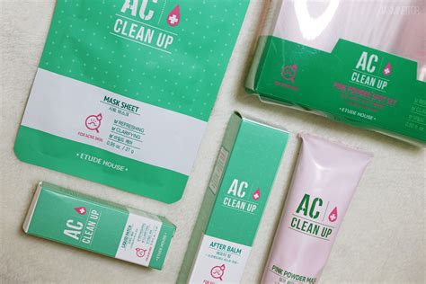 Etude Ac Clean Up Spot Patch 16 Patch etude house ac clean up review jasmineitor korea