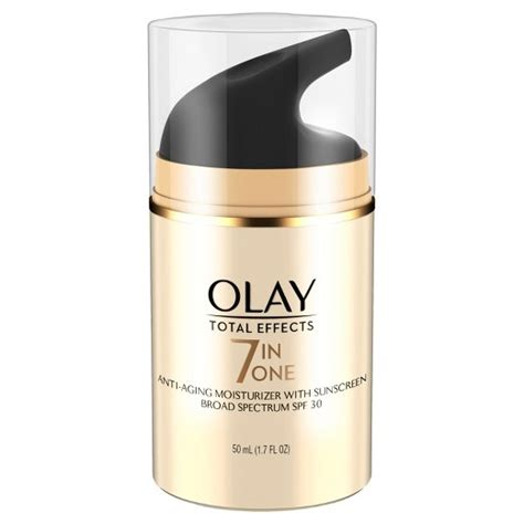 Olay Spf 24 olay total effects 7 in 1 anti aging daily moisturizer