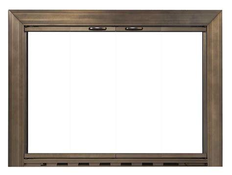 bungalow frame masonry fireplace door design specialties
