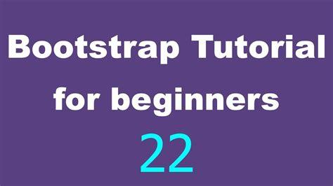 tutorial custom navbar bootstrap bootstrap tutorial for beginners 22 collapse navbar