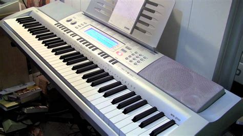 Keyboard Casio Wk 220 Baru casio wk 210 review and demo