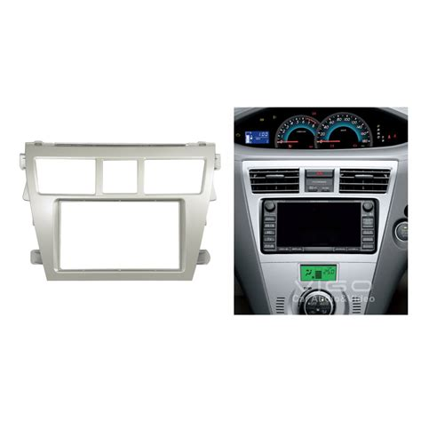 Panel Dashboard Vios Car Radio Facia For Toyota Vios Belta Yaris Sedan Stereo