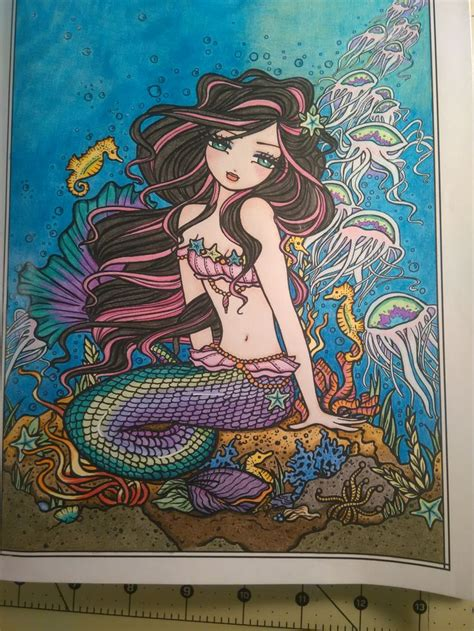 mermaids fairies other 31 best hannah lynn coloring pages images on hannah lynn art drawings and