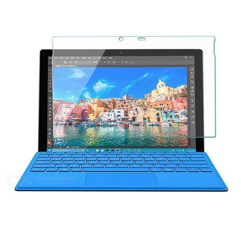 Microsoft Surface Pro 4 Tempered Glass Mocolo Premium Screen Guard premium tempered glass screen protector for microsoft