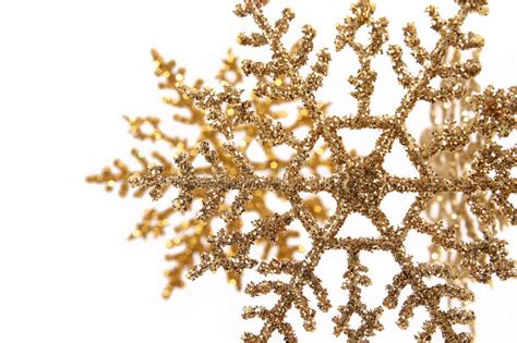 printable gold snowflakes gold glitter snowflake ornaments stock photo image 3892656