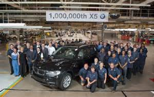 Bmw Plant Greenville Sc Bmw Builds One Millionth X5 Suv At South Carolina Plant