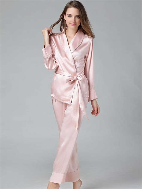 Silk Pajamas by Stylish Silk Pajamas For