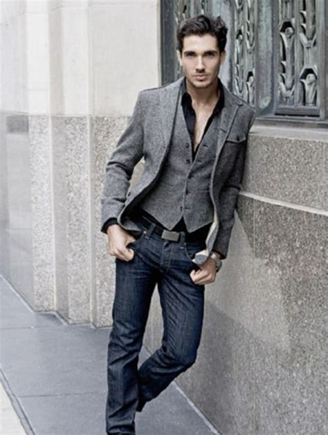Gangster Laid Back Glam In Shades Of Grey by Casual Tenue D 233 Contract 233 E Pour Homme And On