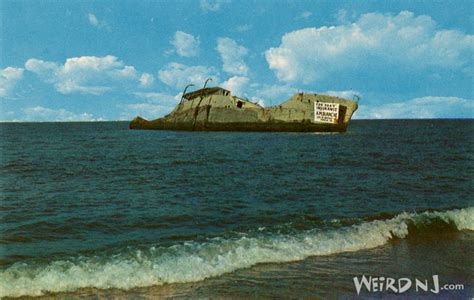 boat shipping new jersey s s atlantus concrete ship and lead balloon weird nj