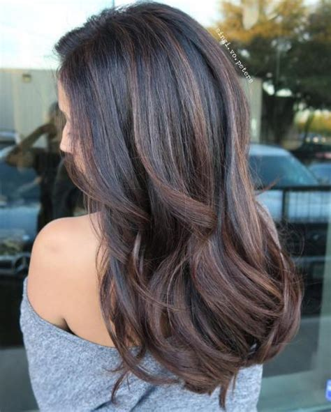 best hair highlights for dark hair to hide gray balayage hair with highlights for 2017 best hair color