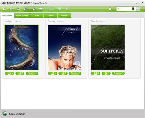 mobile themes creator software free download download sony ericsson themes creator 4 16 2 6