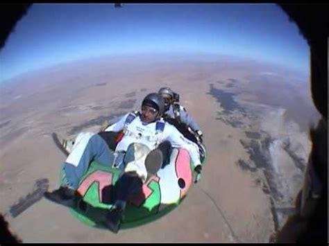 boat parachute skydive in a boat parachute en bateau youtube