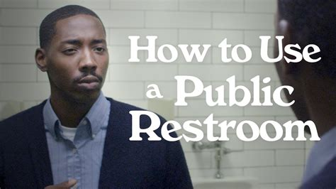 how to use the bathroom more often how to use a public restroom youtube