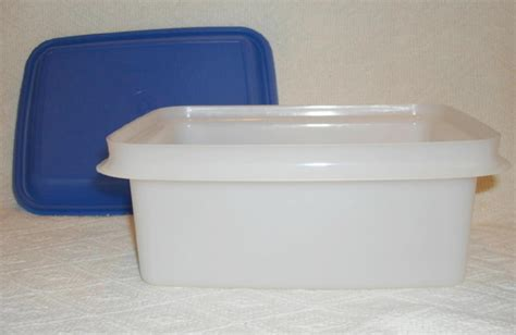 Tupperware Keeper 2 tupperware keeper 2 quart white container blue seal food storage containers