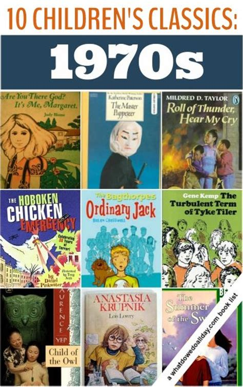 of the 70s books classic children s books from the 1970s