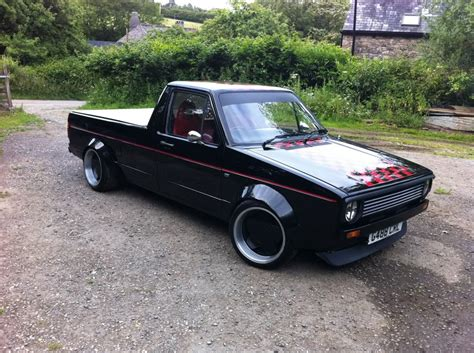volkswagen caddy pickup mk1 gallery for gt vw caddy truck modified