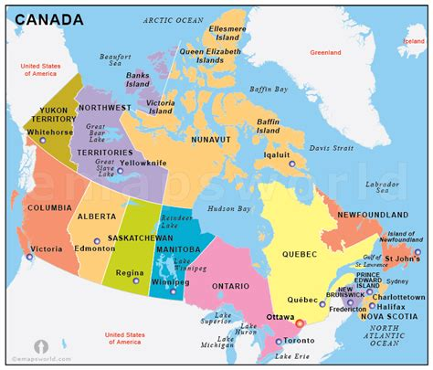 map of states in usa and canada free canada states map states map of canada canada