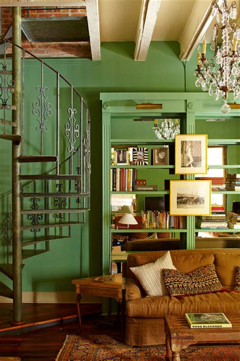 restoration of eclectic french quarter pied a terre in new orleans decor advisor french quarter pied a terre eclectic home office new