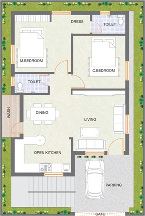 Designing A 30x40 Building Joy Studio Design Gallery Small House Plan Map