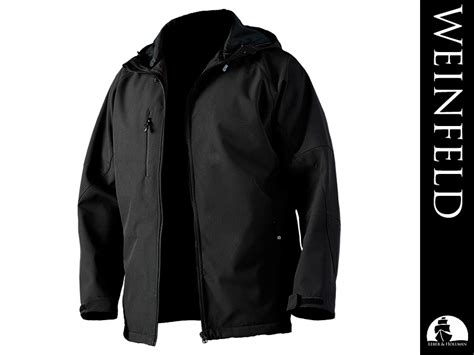 Hollmann Soft weinfeld safety jacket made of softshell material