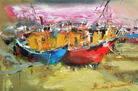 boat canvas ta boats at harbour ilgvars zalans artelista en