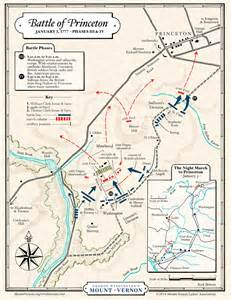 map battle of princeton phases iii and iv 183 george