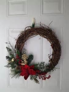 diy twig wreath christmas twig wreath diy pinterest