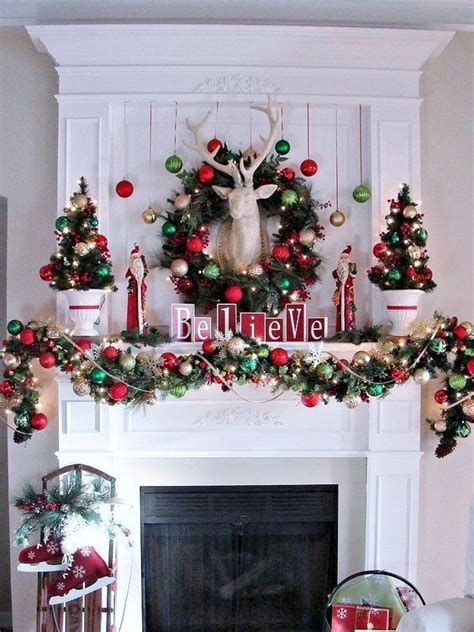 how to decorate a fireplace for christmas 25 ultimate christmas mantel d 233 cor ideas shelterness