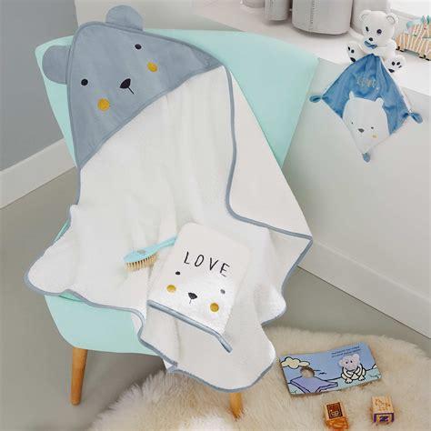 set bagno neonato set mantella da bagno guanto da bagno orso neonato