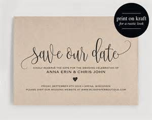 save the date cards templates 25 best ideas about save the date templates on
