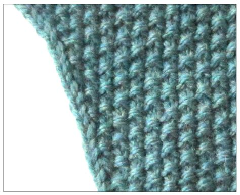 flat knitting stitches techknitting increasing in seed stitch and decreasing in