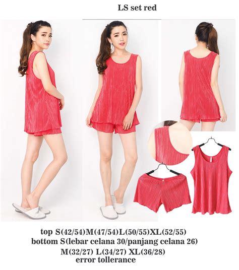 Baju Tidur Wanita Piyama Wanita Sleepwear Katun Stelan 1 buy branded sleepwear stelan baju tidur wanita deals