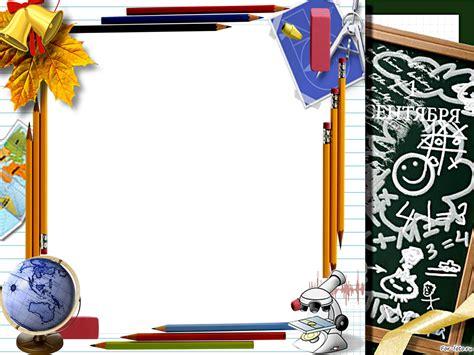imagenes de marcos para utiles escolares marcos de fotos para colegio escuela inicio del a 241 o