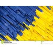 Facture Amarillo Y Azul Abstracto De La Tira Imagen