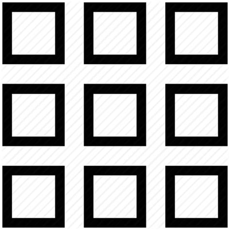 pattern icon png page design pattern plan squares grid layout template