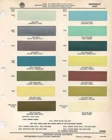 1957 Chevrolet Colors 1957 Chevy Colors